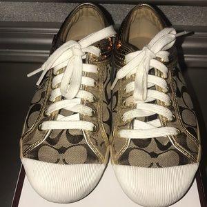 Coach Sequin Sneakers
